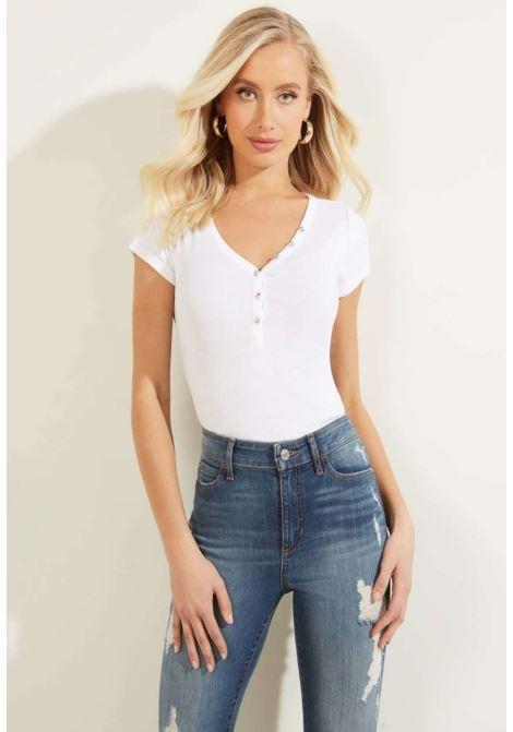 T-shirt bianca guess GUESS | T-shirt | WOGI62R9I50BIANCO