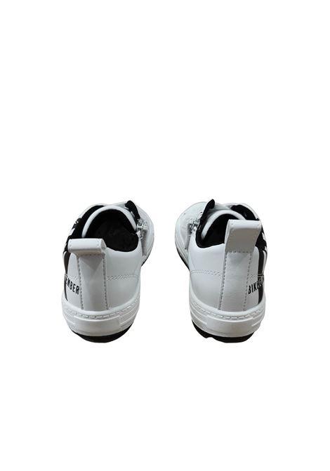 sneakers bassa white e black bikkembergs | Scarpe | K3B420731NERO