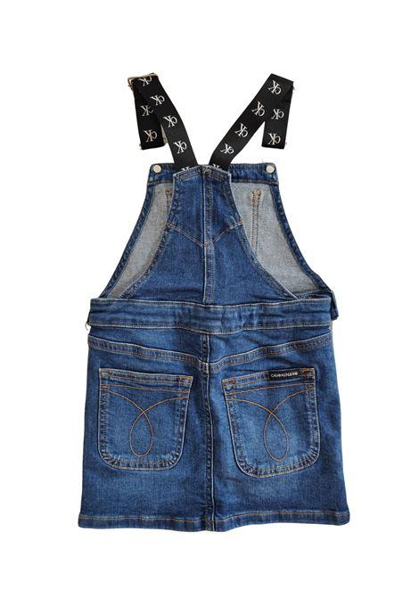 SALOPETTE DI JEANS SCURO calvin klein jeans | Abiti | G012051A4