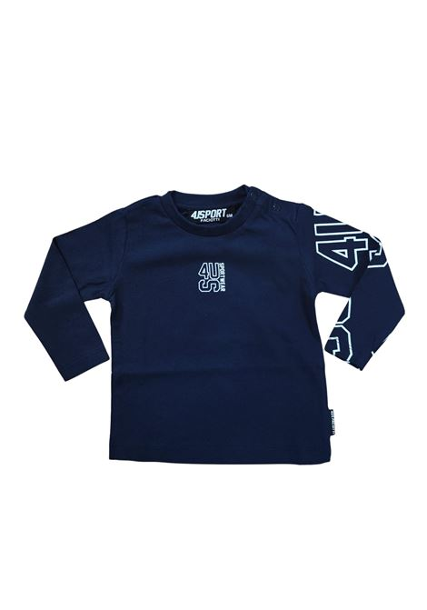 cesare paciotti | T-shirt | TSP2304BBLU