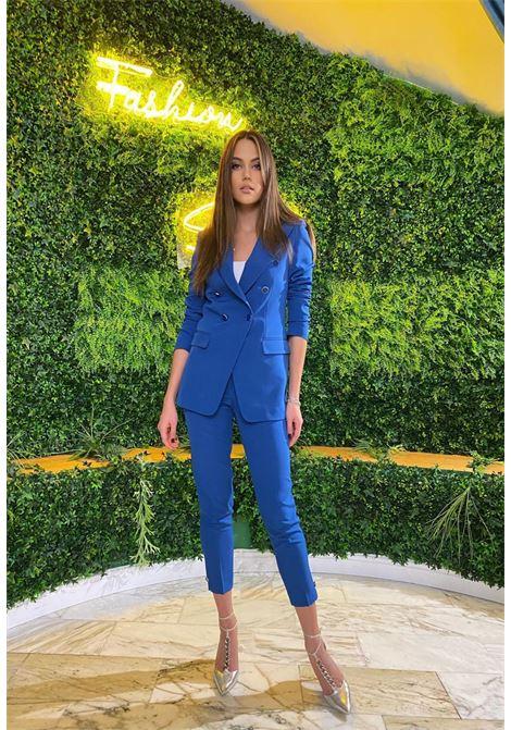 pantalone blu followme clothing   Pantaloni   ANYPA001AZZURO