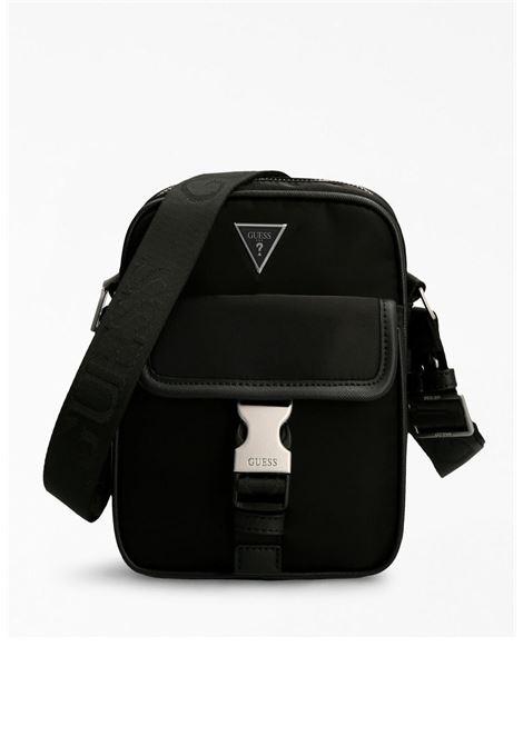 mini-borsello nero GUESS borse man | Borse | CENYP1459NERO