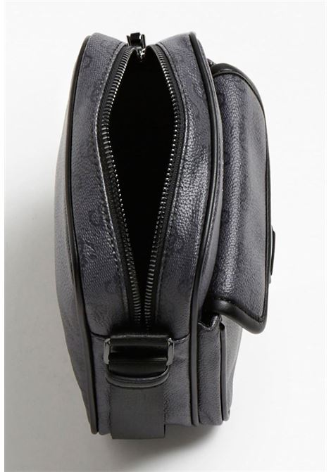 mini-borsello logato grigio GUESS borse man | Borse | VEZLP1359NERO