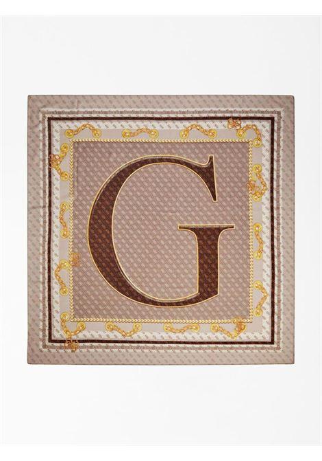 Foulard beige GUESS borse | Foulard | AW8685ROSA
