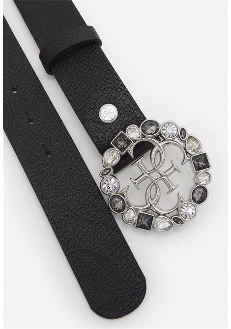 cinta nera con brillantini GUESS borse   Cinture   BW7511NERO