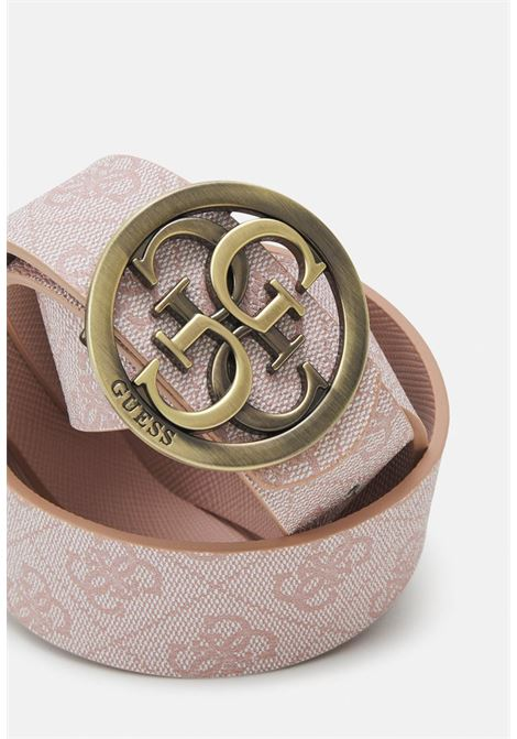 cinta reversibile logata rosa GUESS borse   Cinture   BW7532BLUSH