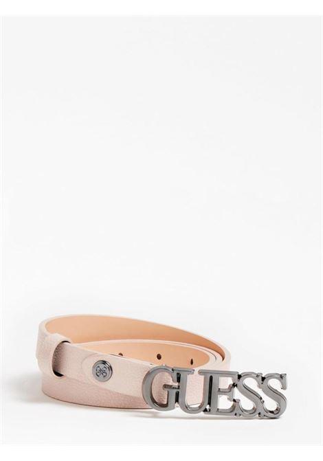 cinta sottile rosa GUESS borse | Cinture | BW7538BLUSH
