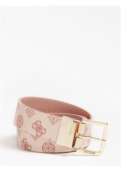 cinta rosa logata reversibile GUESS borse   Cinture   BW7548BLUSH