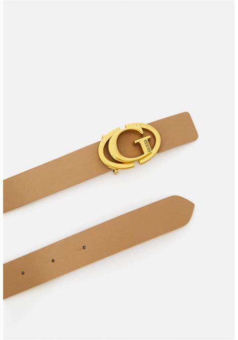 cinta beige GUESS borse | Cinture | BW7552CAMEL