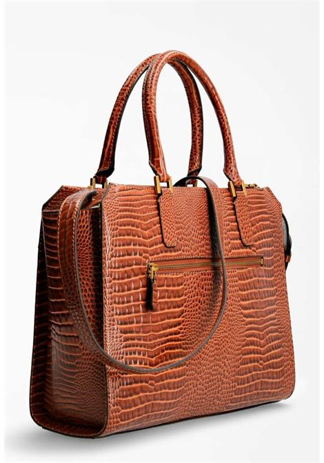 Borsa cocco marrone guess GUESS borse | Borse | CB7760230COGNAC