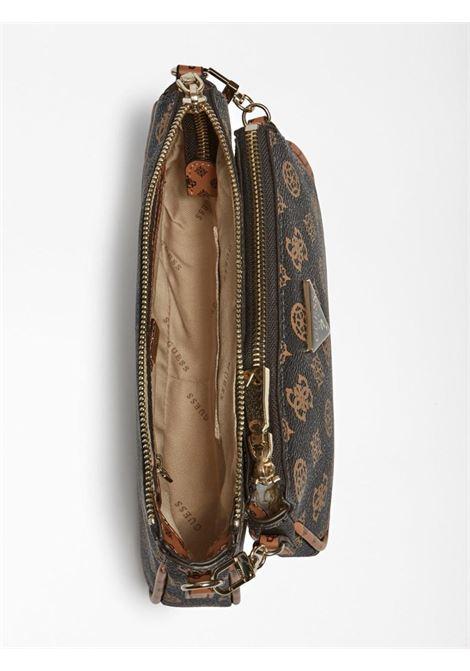 mini-bag logata marrone GUESS borse   Borse   PG7885700MOCHA