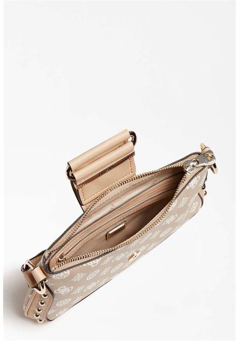 Pochetta logata rosa guess GUESS borse | Borse | PG8129200SAND
