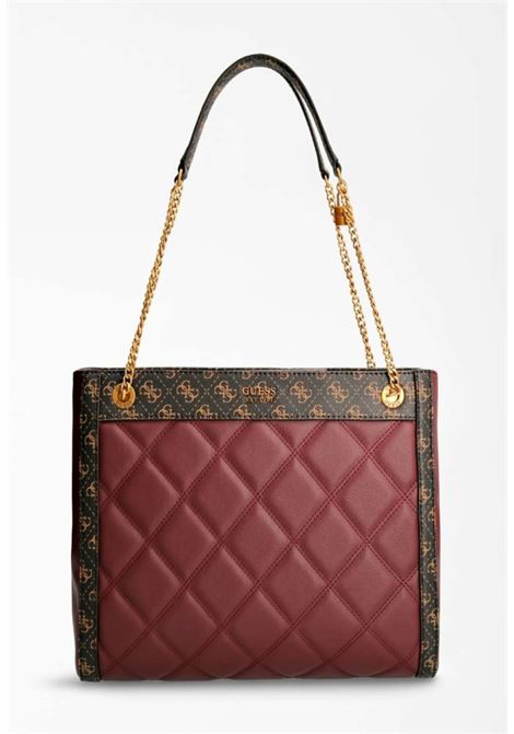 Shopper bordeaux guess GUESS borse | Borse | QB7870230BORDEAU
