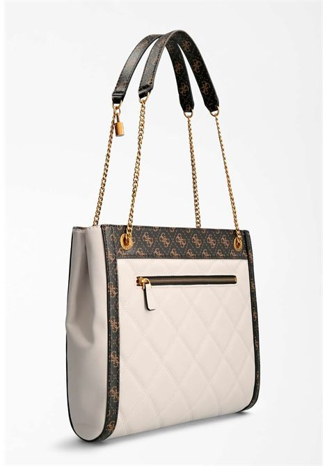 Shopper panna guess GUESS borse | Borse | QB7870230STONE