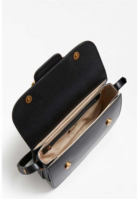 Tracolla nera in ecopelle GUESS borse | Borse | VB8113210NERO
