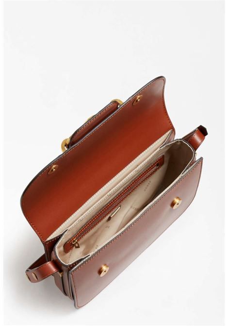 Tracolla cuoio GUESS borse | Borse | VB8113210ROSSA