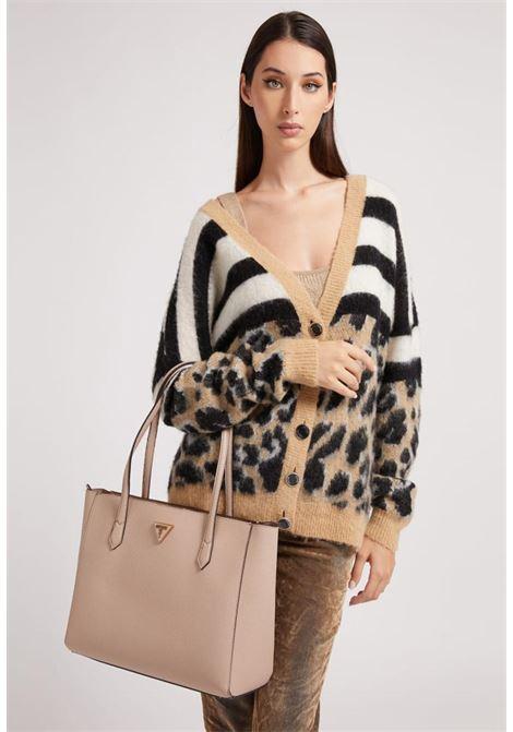 shopper beige GUESS borse   Borse   VB8385230BEIGE