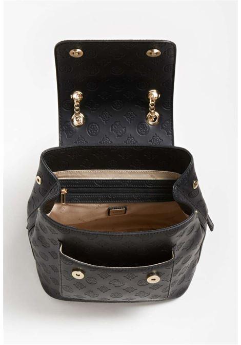 Zaino nero inciso GUESS borse | Borse | VS8132320NERO