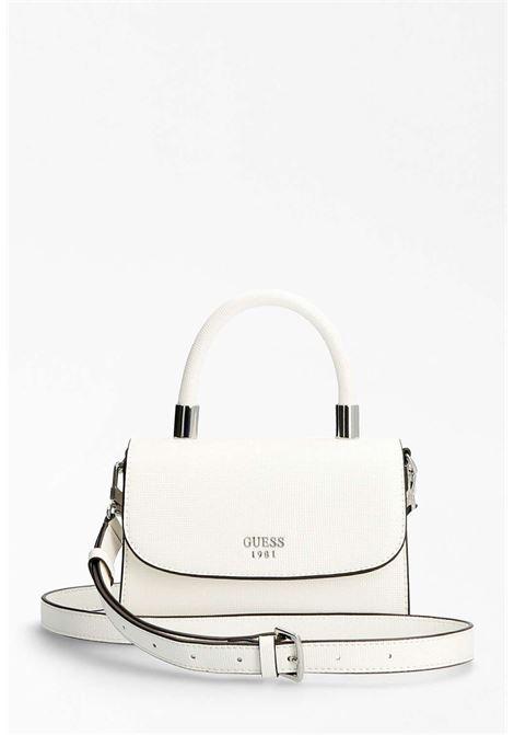 Mini-pochette bianca GUESS borse   Borse   VY7989780BIANCO