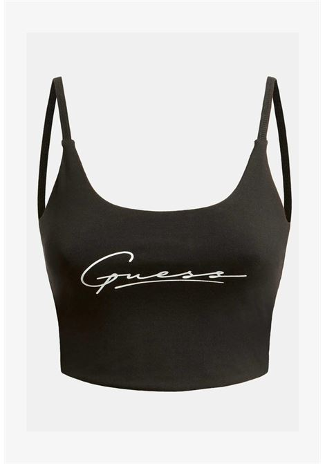 top fit nero GUESS fitness   Top   01BA10KASI1NERO
