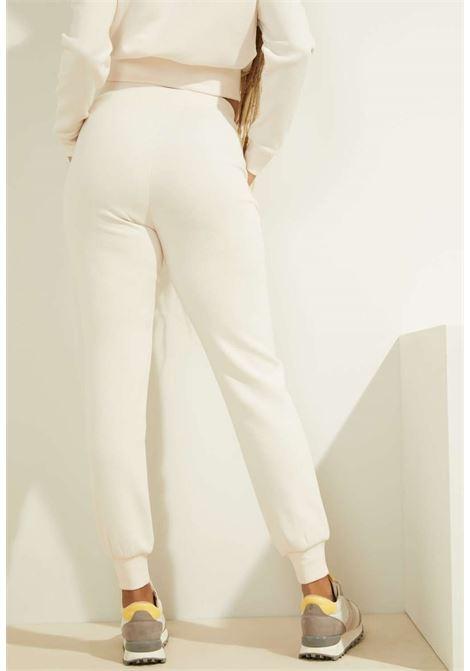 Tuta panna GUESS fitness | Pantaloni | O0BA26KA3P1MAUVE