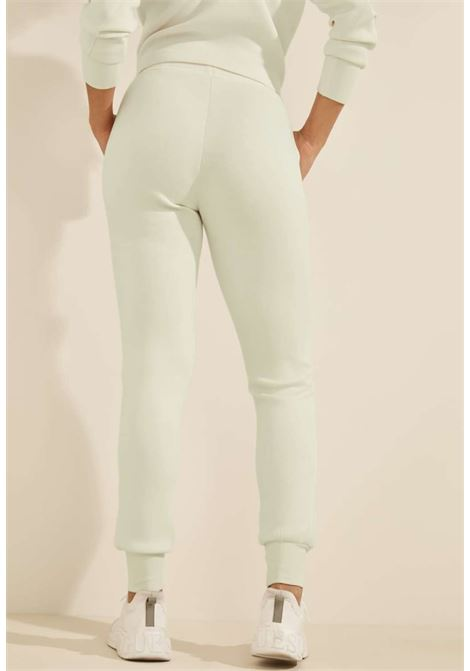 Tuta bianca GUESS fitness | Pantaloni | O1GA49KAMN2MAUVE