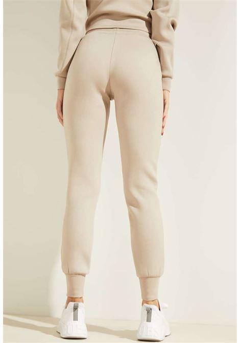 Tuta beige GUESS fitness | Pantaloni | O1GA49KAMN2TAUPE