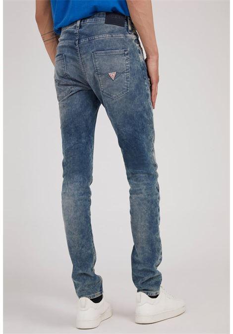 jeans super skinny GUESS man | Jeans | M1BA27D4I11ENC1