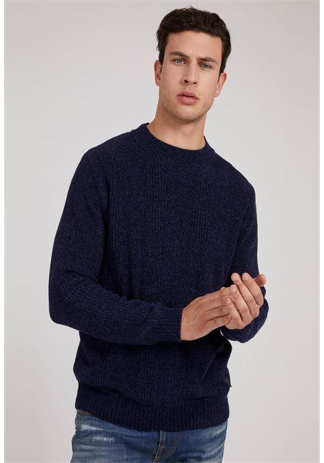 maglione blu GUESS man | Maglieria | M1BR31Z2W80BLU