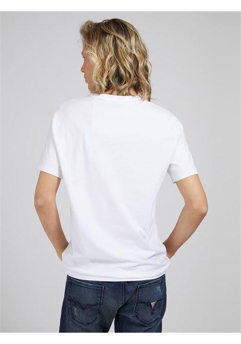 t-shirt basic bianca GUESS man | T-shirt | M1RI24J1311BIANCO