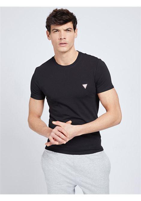t-shirt basic nera GUESS man | T-shirt | M1RI24J1311NERO