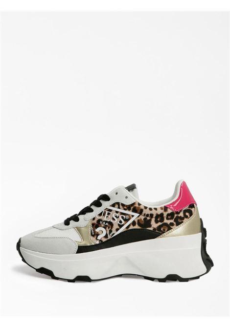 Runner leopardata GUESS SCARPE | Scarpe | FL7CBBPEL12LEOPARDATO