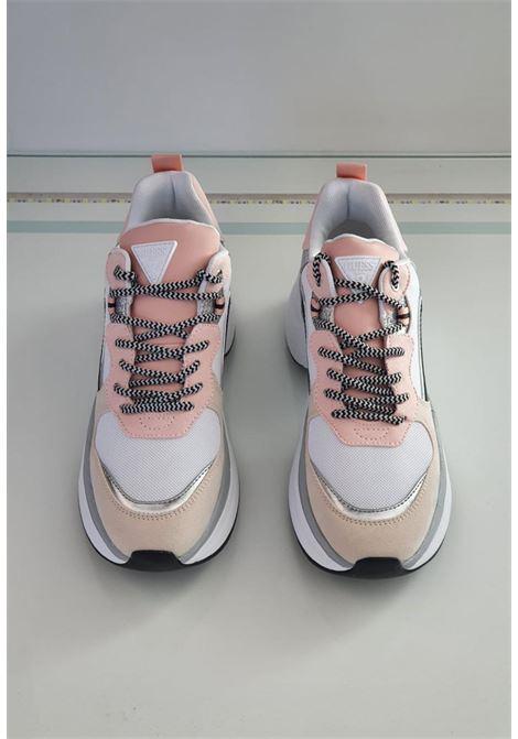 runner rosa e beige GUESS SCARPE   Scarpe   FL8JOLLEL12BEIGE