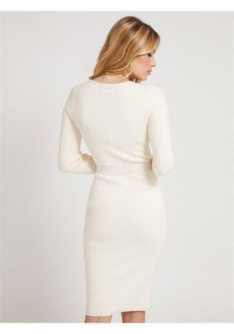 abito a cardigan bianco GUESS | Abiti | W1BK58Z17X3BIANCO
