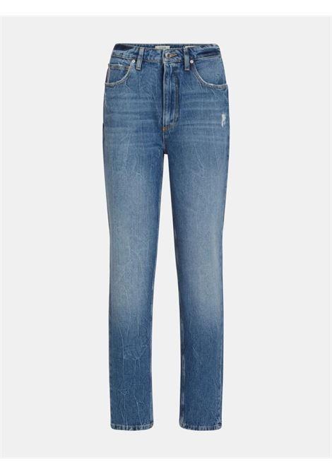 Jeans mom chiaro GUESS | Jeans | W1YA21D3Y0GSTWY