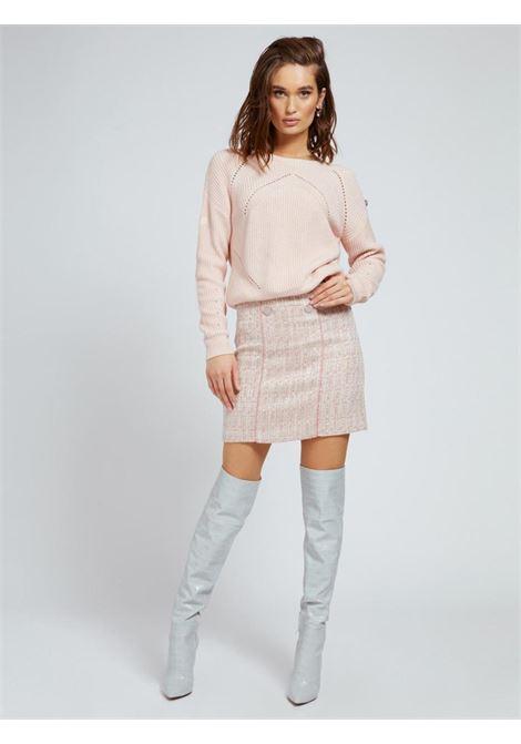 gonna a tubino rosa GUESS | Gonna e Shorts | W1YD0SWE0G0PINK