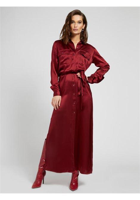abito rosso in seta GUESS | Abiti | W1YK1BWE1K0RED