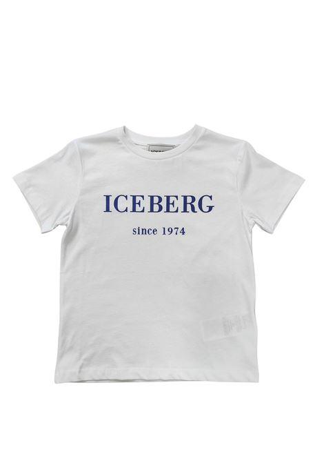 iceberg   T-shirt   TSICE2300JBIANCO