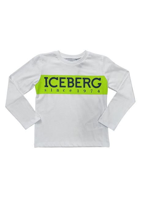 iceberg   T-shirt   TSICE2301JBIANCO