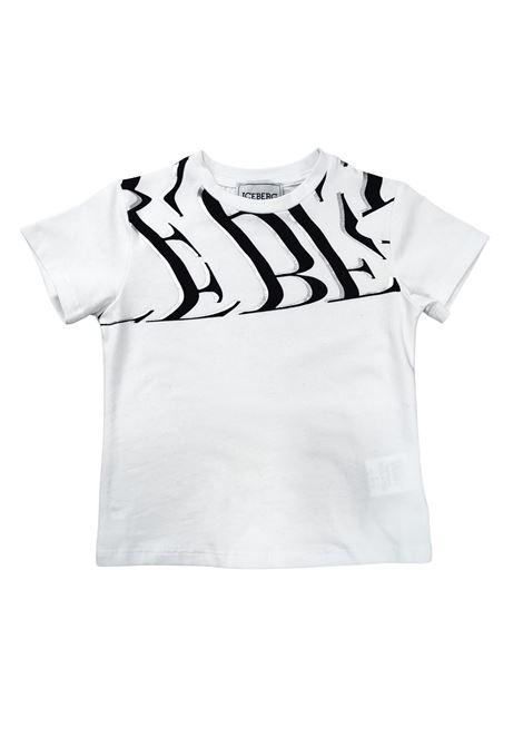 iceberg | T-shirt | TSICE2362JBIANCO