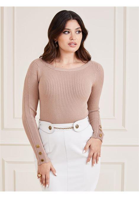 maglione beige marciano guess   Maglieria   1BGR205613ZBEIGE
