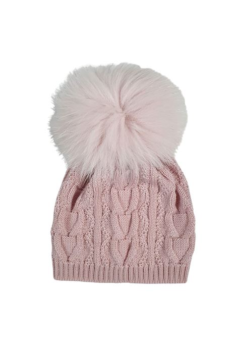 cappello in lana con pon pon marsala marlu | Cappelli | IC1071MARSALA