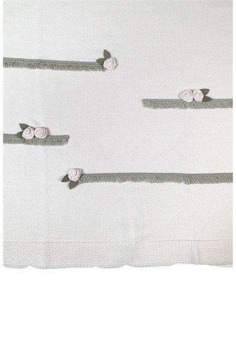 coperta in lana color rosa e tortora marlu | Coperte | IC1580ROSA TORTORA