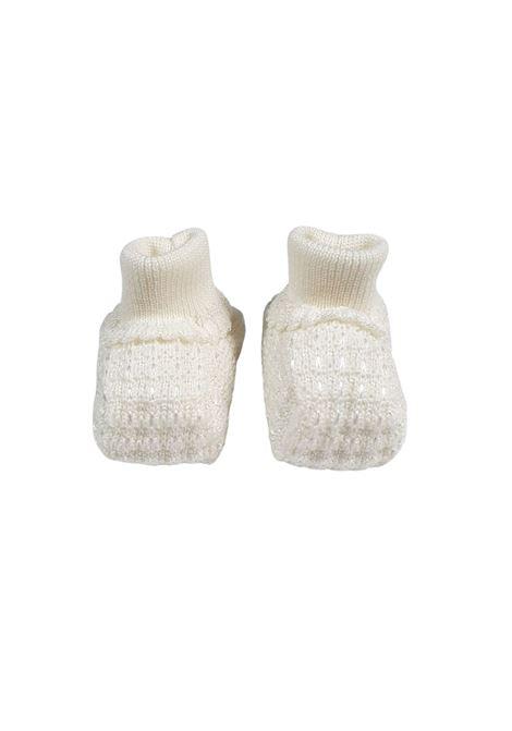 Scarpa calzino in lana vaniglia marlu | Scarpe | IC23SVANIGLIA