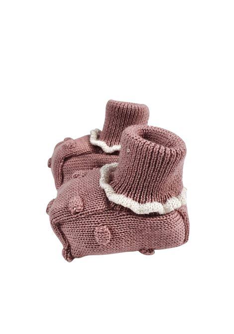 Scarpa calzino in lana melograno marlu | Scarpe | IC24SMELOGRANO