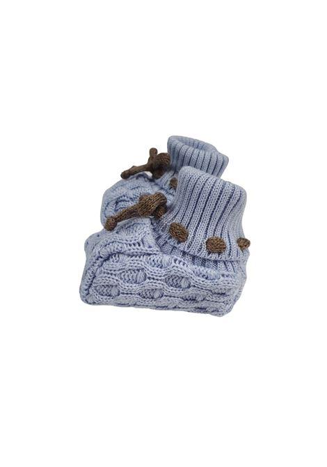 Scarpa calzino in lana cielo marlu | Scarpe | IC53SCIELO