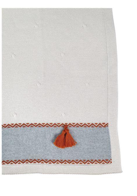 coperta in lana grigia e acero marlu | Coperte | IC5780GRIGIO