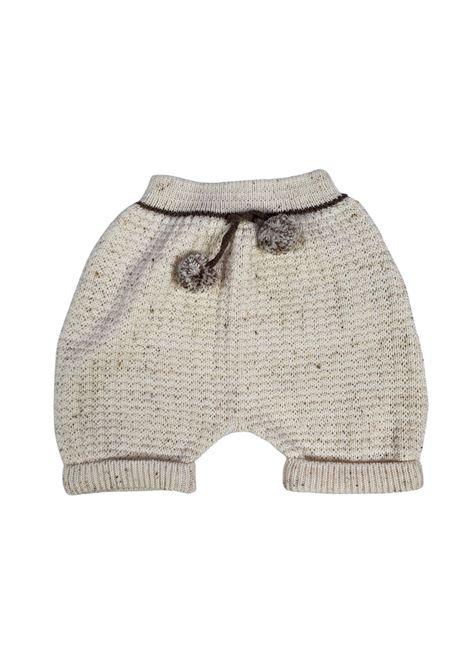 completo 3 pezz in lanai con camicia panna e cacao marlu | Tutine | IC5960PANNA CACAO