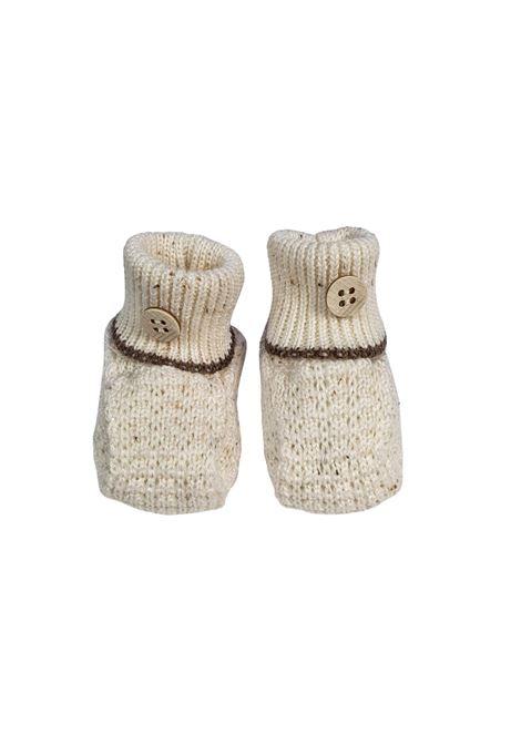 Scarpe calzino in lana panna cacao marlu | Scarpe | IC59SPANNA CACAO