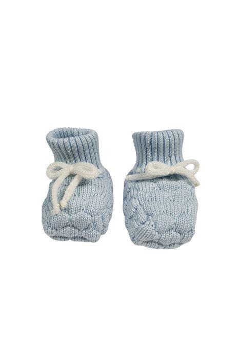 Scarpe calzino in lana cielo e bianco marlu | Scarpe | IC60SCIELO BIANCO